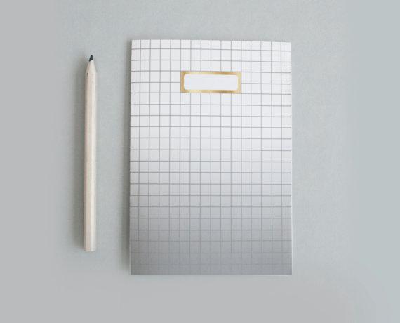 schwarzes obre Notizbuch auf Etsy