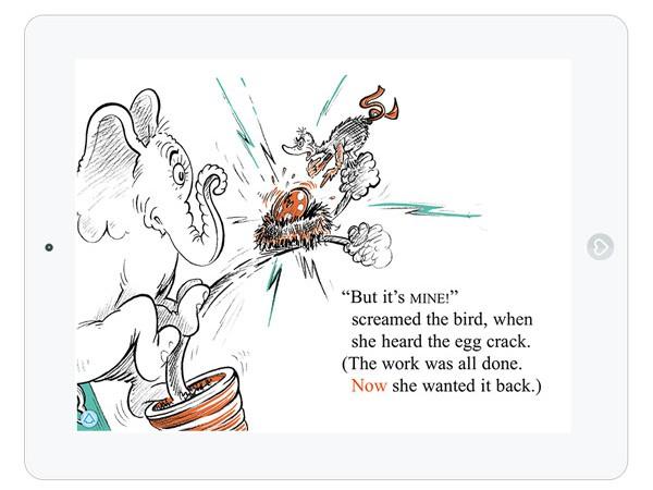 Englische Kinderbuch App von Dr.Seuss
