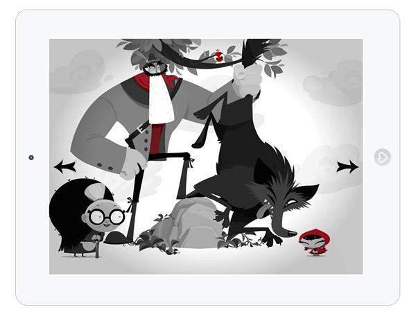 Märchen Kinder App Rotkäppchen