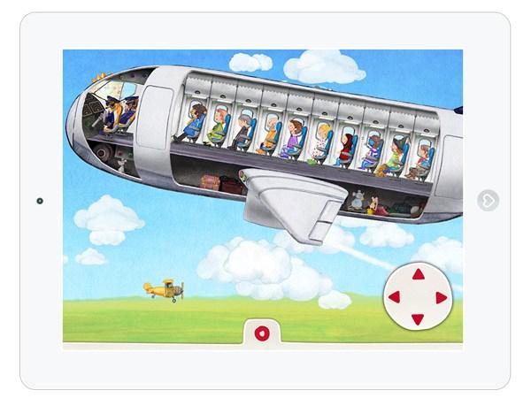 WImmelbuch App am Flughafen