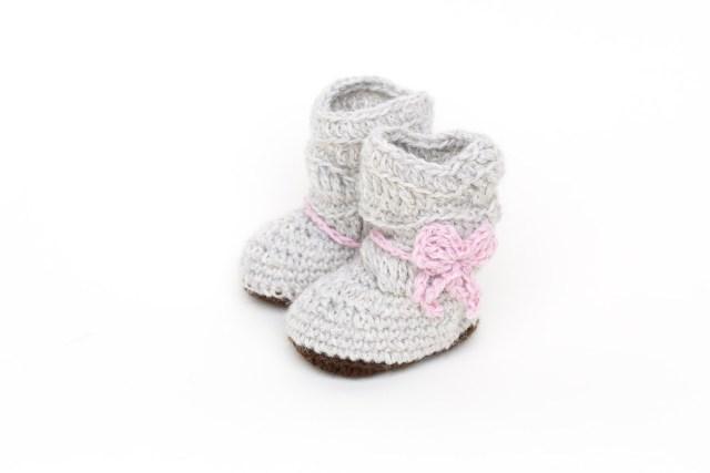 Handgestrickte Baby Schuhe von Berlin Baby