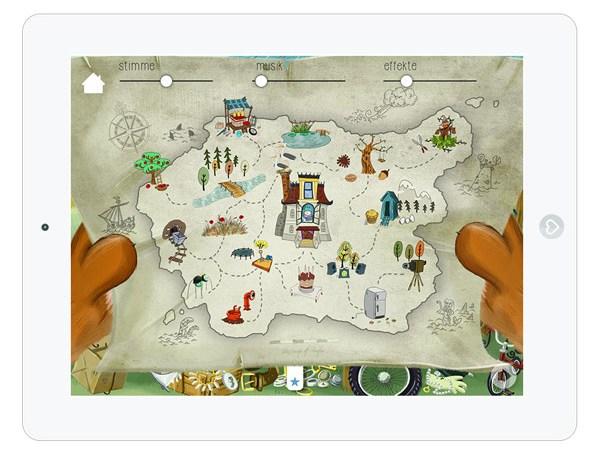 Kinder App mit Minispielen