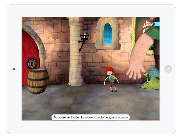 Kinder Märchen App zum Lesen und Spielen