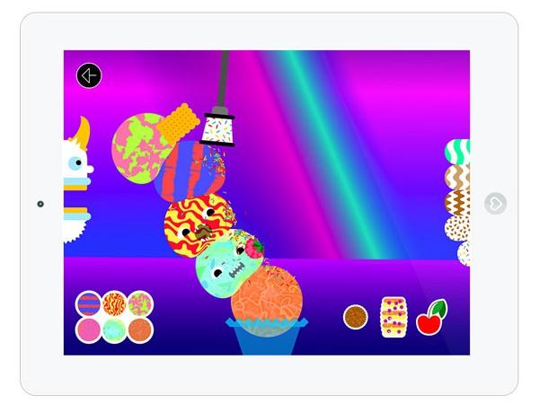 witzige Spiele App für kreative Kinder