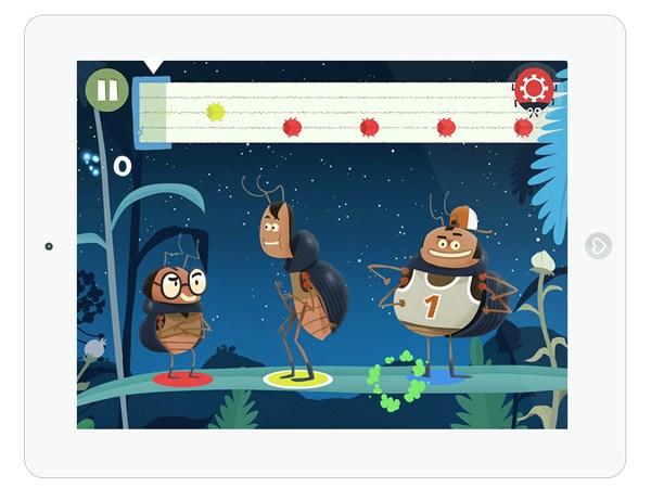 lustige Kinder App mit Mini Spielen