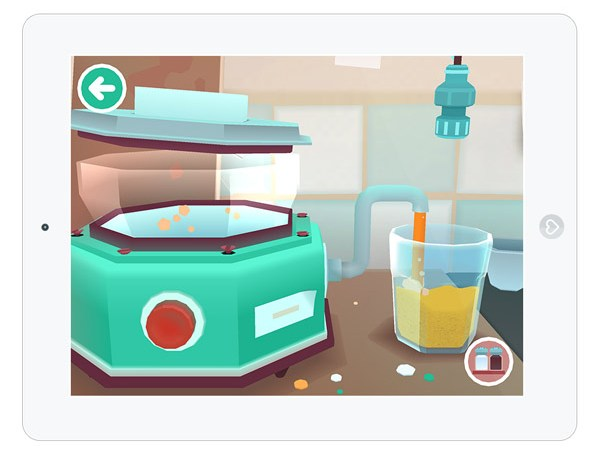 Kinder Spiele App für iOS übers Kochen, Essen und Lebensmittel