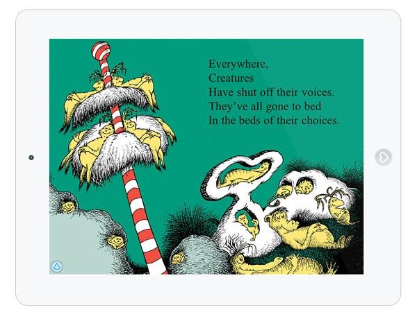 Eine Geschichte über's Schlafen als Kinderbuch App