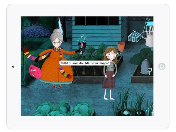 Märchen App für Kinder mit 3D Effekt