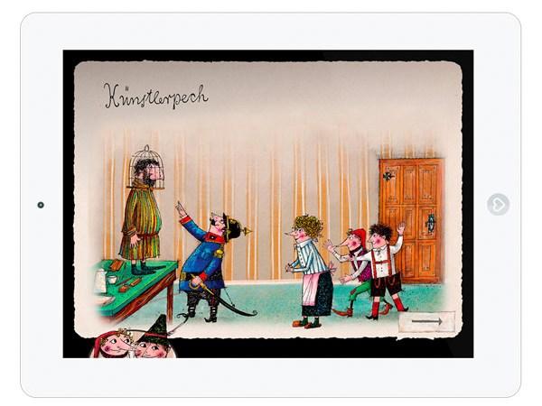 Kinderbuch Klassiker mit Mini Spielen für ältere Kinder