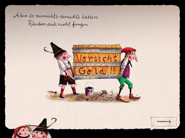 Kinderbuch Klassiker mit Mini Spielen