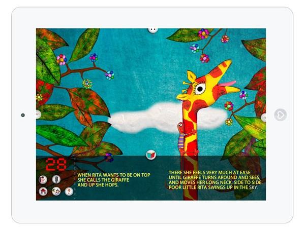 Englische Kinderbuch App über Idenditätsfindung