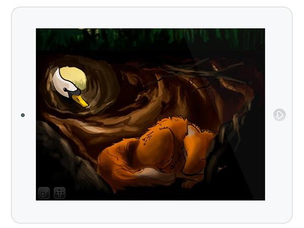 Gute Nacht App für Kinder - interaktives Bilderbuch