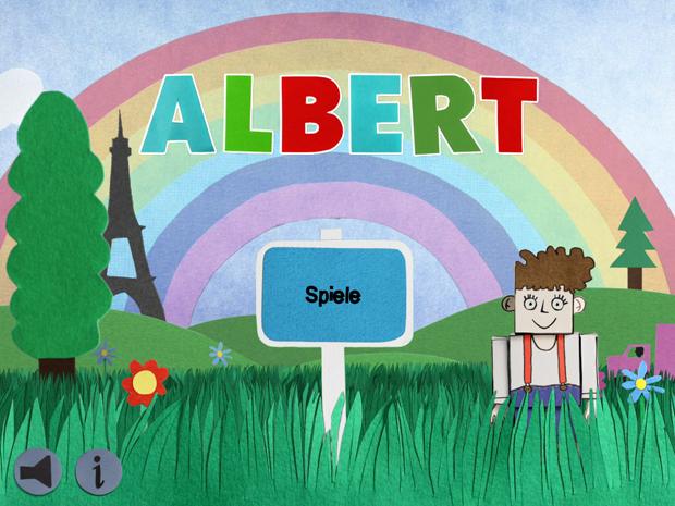 Toll gestaltete Kinder App mit lustigen Minispielen
