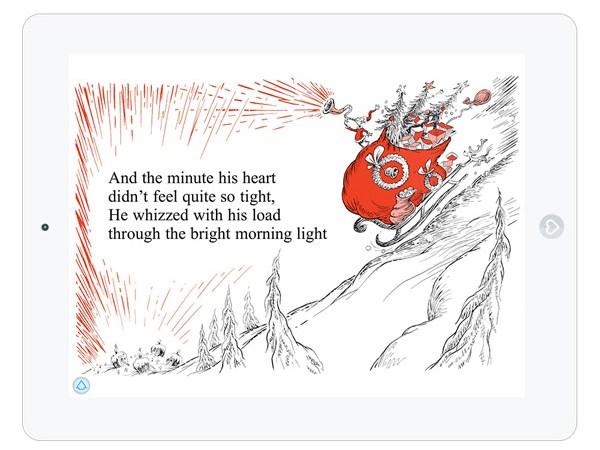Bilderbuch App über Weihnachten von Dr. Seuss für Kinder