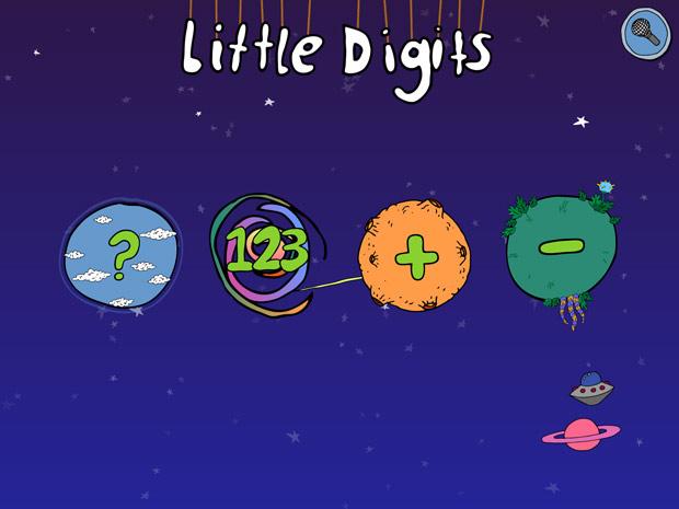 Kinder App zum Zahlen lernen mit den Fingern