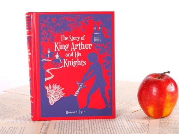 iPad Hüllen aus alten Büchern – König Arthus