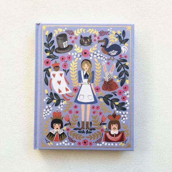 iPad Hüllen aus alten Büchern – Alice im Wunderland