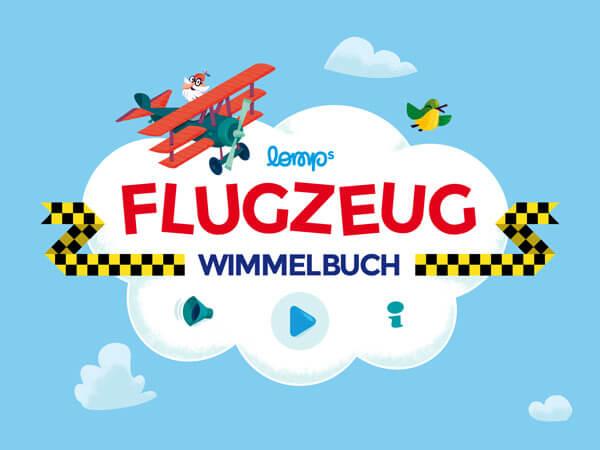 Klassische Suchbild App für Flugzeug-begeisterte Kinder