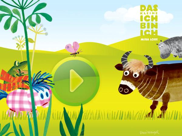 Kinderbuch Klassiker als App über Selbstfindung