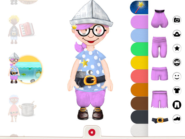 Interaktive Wimmelbuch App mit Piraten für Kinder