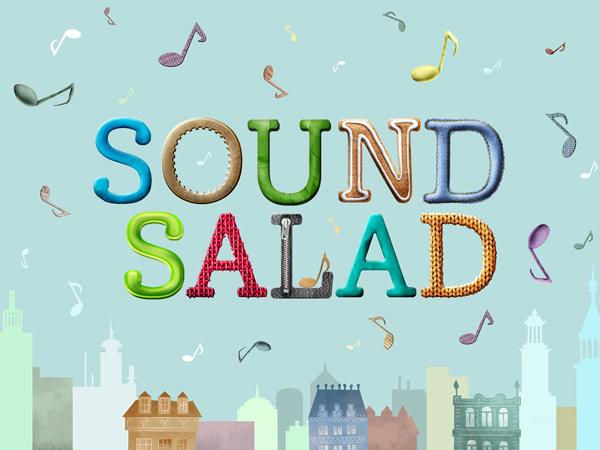 Geräusche richtig zuordnen mit der schönen Kinderapp Sound Salad