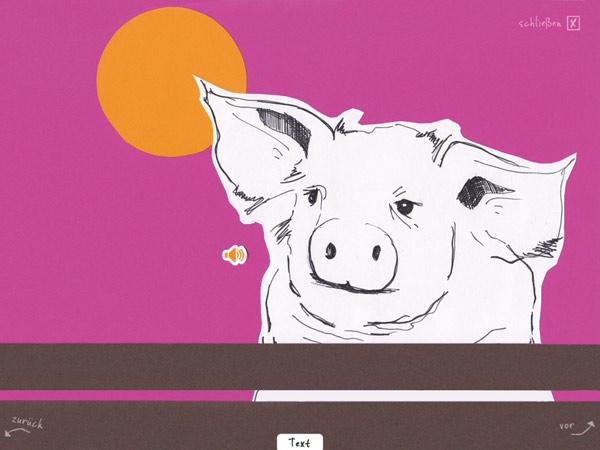 kostenlose App für Kinder über Glück und Glücklich Sein