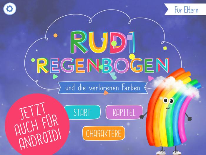 Rudi Regenbogen Kinder App für Android und iOS