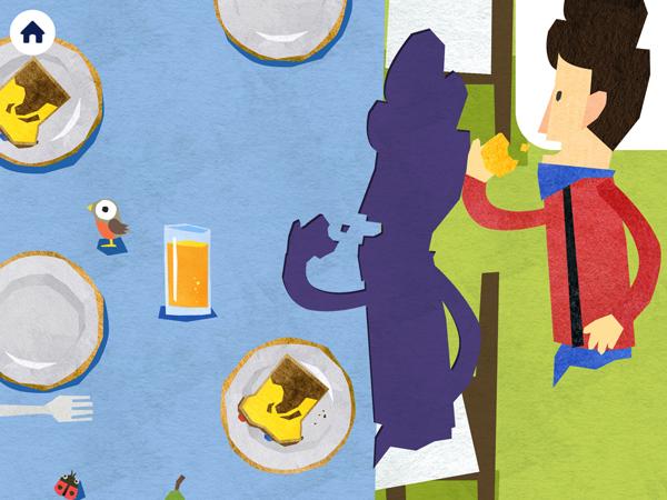 Puzzle App für Kleinkinder mit Seemann Fiete