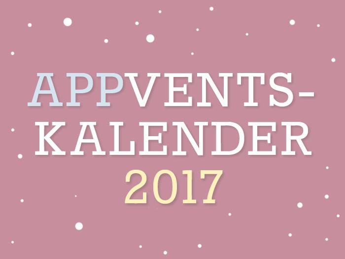 Adventskalender 2017: Gewinnt täglich Promo-Codes für die schönsten Apps!