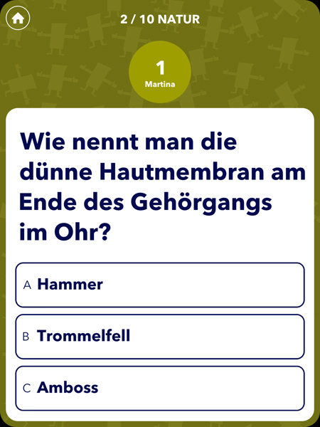 Lustige Rätsel Game App für wissbegierige Kinder