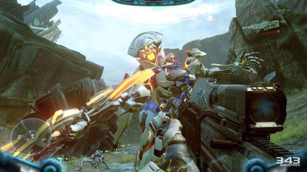 """Os Proteans são a nova """"terceira facção"""" de inimigos, introduzida no Halo 4 depois da erradicação dos mutantes / zombies """"Flood"""". São muito mais fixes de matar, e vêem com o bónus de trazer armas diferentes. Mais armas. Sim."""