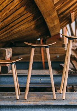 wood stool chair design bentwood cafe chairs lottus enea coma