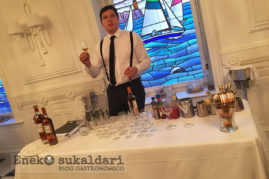 Black Angus y whisky Macallan Dos escoceses bien avenidos