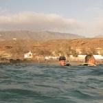 Ramón, Jose Daniel, juan y Mathias a la salida de la inmersión de Las Tortugas en Armeñime