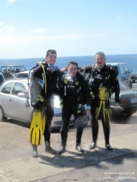 Joni, Adrian y Juan en Teno - IMG_2004