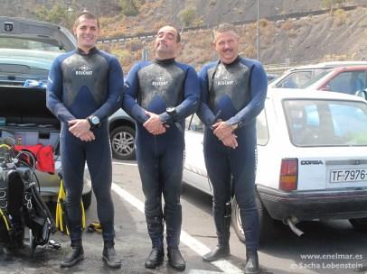 Joni, Sacha y Juan en Garachico - IMG_4801