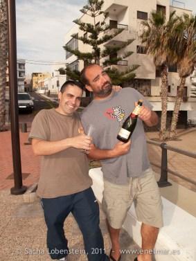20110514 1846 - Adrián, Las Eras, Sacha - Buceadores