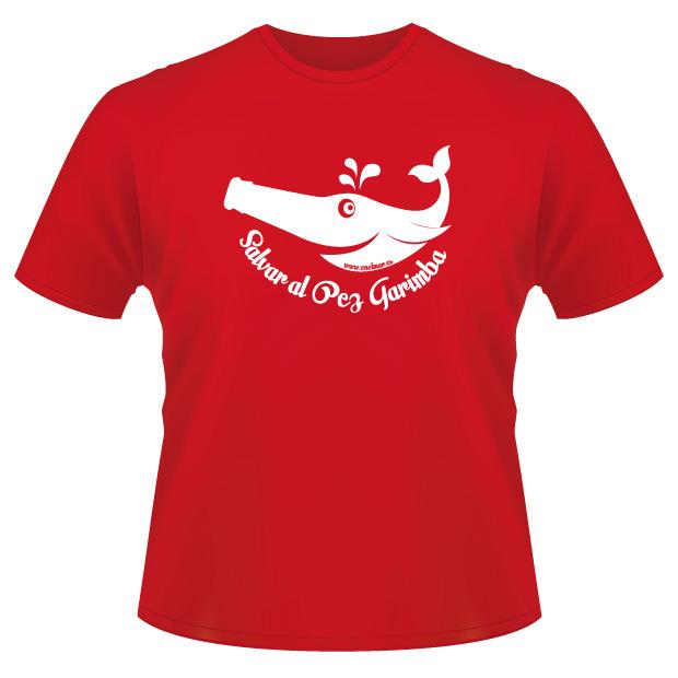 Consigue tu Camiseta de «Salvar al Pez Garimba»: Tan sólo 10€