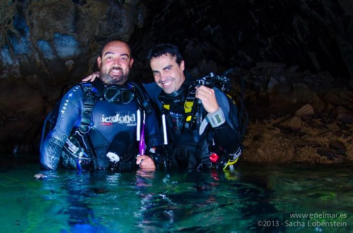 Sacha Lobenstein y Adrián Fernández