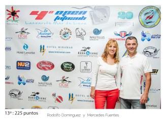 13º - 225 puntos:Rodolfo Dominguez y Mercedes Fuentes