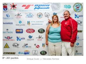8º - 261 puntos:Enrique souto y Mercedes Ramirez