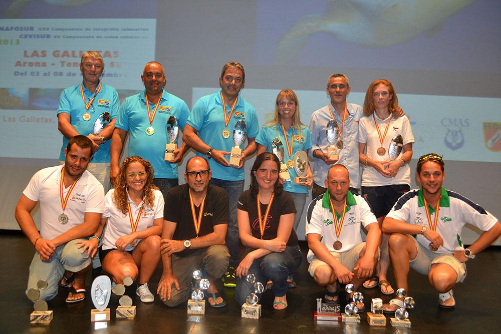 Jorge López y Nuria Rizo, Campeones de España del XV Cevisub y Marc Giménez y Silvia Sebastián se alzan con el XXV Nacional del Nafosub