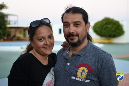 9 Alberto Estrada Padron y Teresa Martin Garcia - 149 pts
