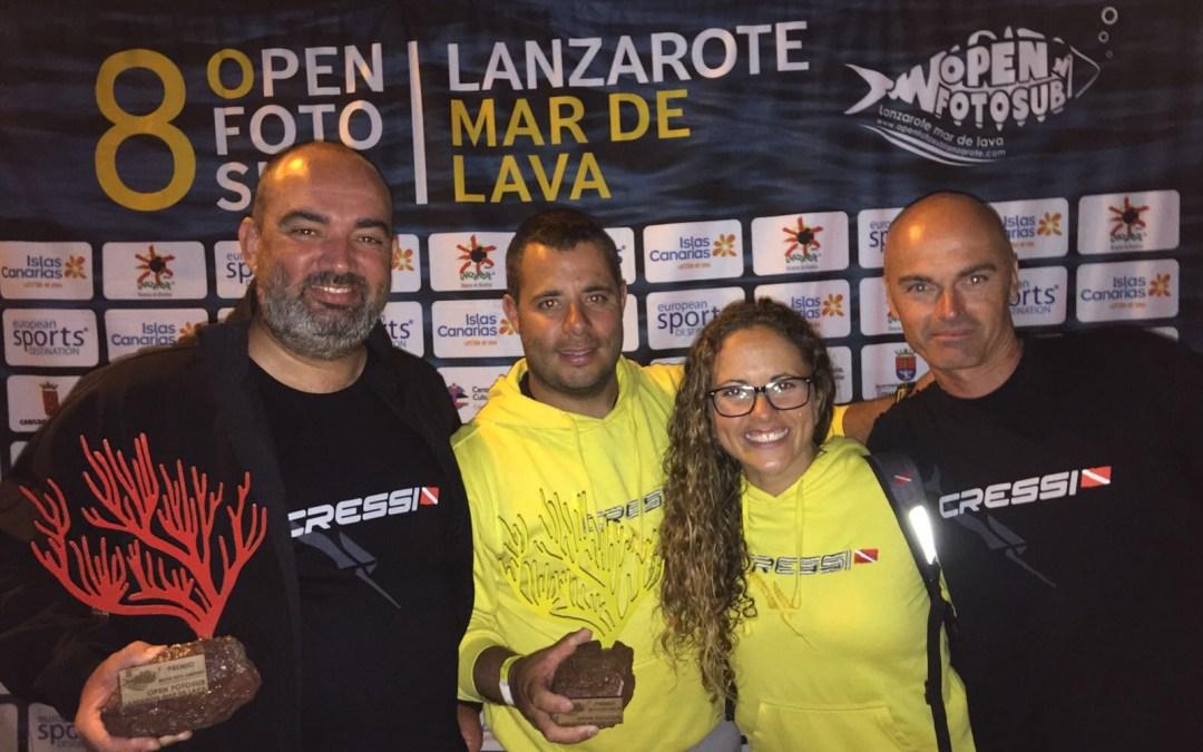 Escapadita al Open Fotosub Lanzarote Mar de Lava 2017