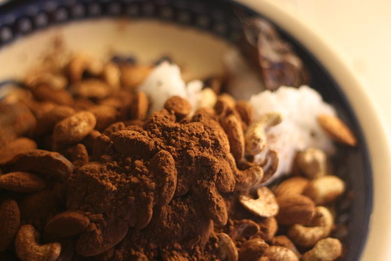 Proteinbollar, ingredienser