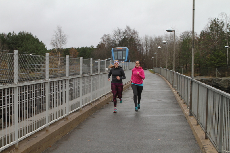 Löptur med Strongday och EnEmilia Stockholm