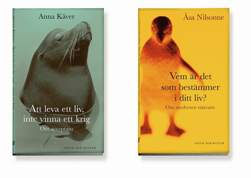 Åsa Nilsonne och Anna Kåver. Bokomslag