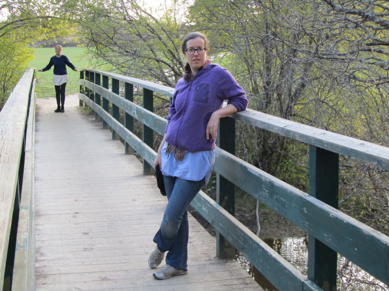 En Emilia på bro
