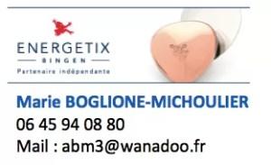 Energetix Marie Boglione signature