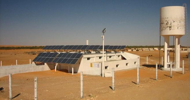 Desalinizadoras solares en Túnez